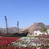 Oman, Muscat, Famous Dhow Boat