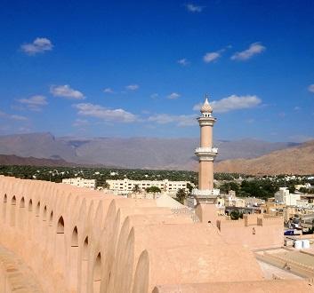 Oman, Nizwa , Atop Nizwa Fort