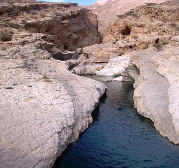 Oman, Wadi Bani Khalid