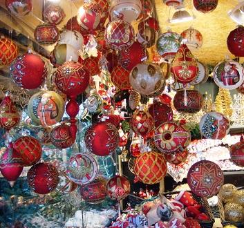 Austria, Salzburg, Christmas Decorations