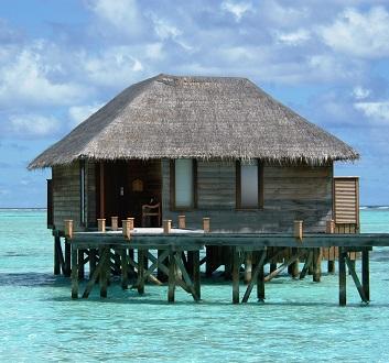 Maldives, Rangali Island, Water Villa