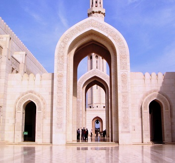 Oman, Muscat, Sultan Qaboos Grand Mosque