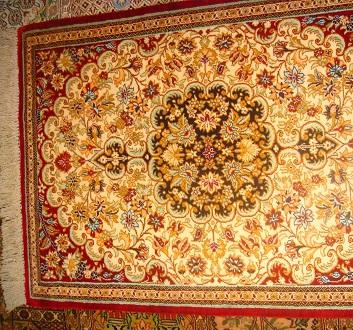 UAE, Dubai, Oriental Carpets
