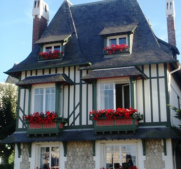 France, Normandy, Deauville Architecture