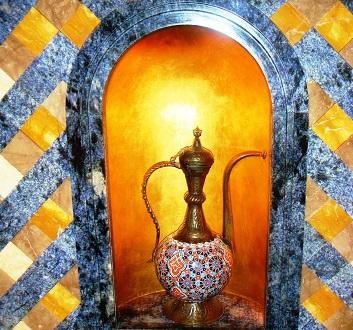 UAE, Dubai, Arabic Vase