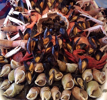 France, Normandy, Fruit de Mer