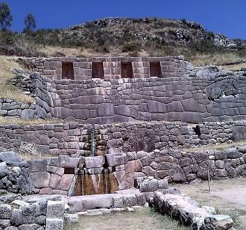 Peru, Cusco, Archeological Site