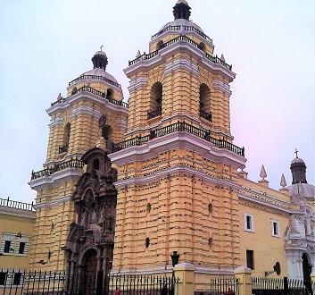 Peru, Lima, Monastery of San Francisco