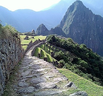 Peru, Wayna Picchu View