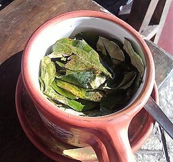 Peru, Mate de Coca Tea