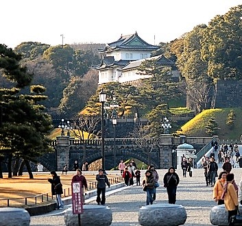 Japan, Tokyo, Imperial Palace