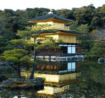 Japan, Kyoto, Kinkakuji Temple