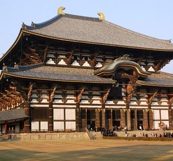 Japan, Nara, Todai-ji Temple