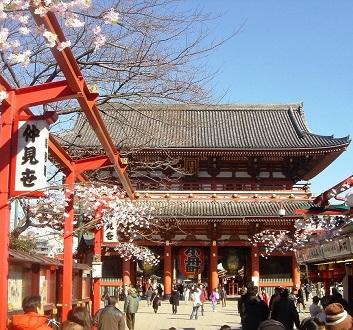 Japan, Tokyo, Senso-ji Temple