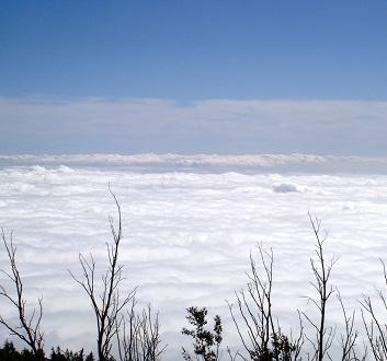 Japan, Mount Fuji, Above Clouds