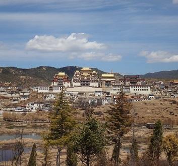 China, Shangri-la, Songzanlin Monastery