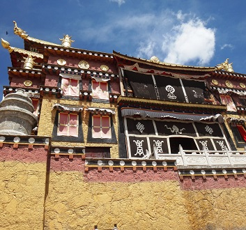 China, Shangri-la, Songzanlin Monastery, Assmbly Hall