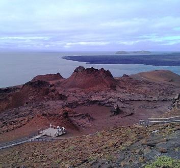 Ecuador, Galapagos, Bartolomé Island, Hike to Summit Point