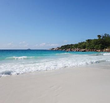 Seychelles, Praslin, Anse Lazio Beach