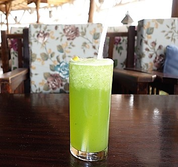 Qatar, Doha, Lemon and Mint Drink