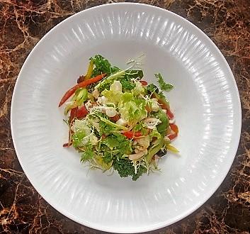 Seychelles, Mahé Island, Octopus Salad