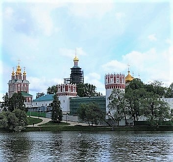 Russia, Moscow, Novodevichy Convent