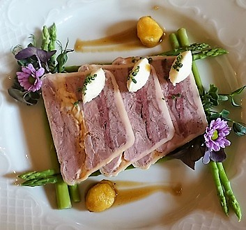 Russia, Moscow, Café Pushkin, Jellied Meat