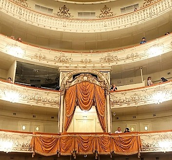 Russia, Saint Petersburg, Mikhailovsky Theatre