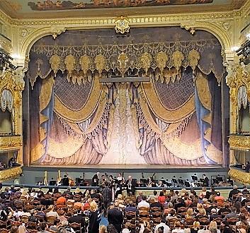 Russia, Saint Petersburg, Mariinsky Theatre