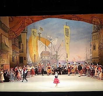 Russia, Saint Petersburg, Mariinsky Theatre, Don Quixote Ballet