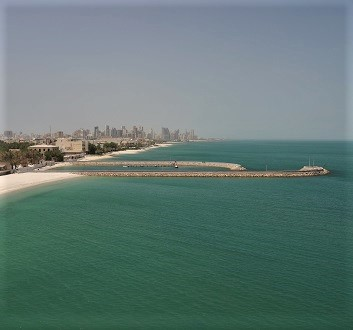 Kuwait, Kuwait City, Coastline