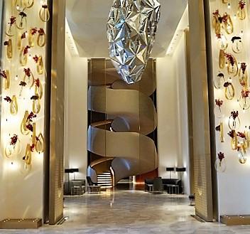 Kuwait, Kuwait City, Four Seasons Hotel Kuwait at Burj Alshaya, Lobby