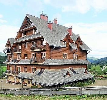 Poland, Bieszczady, Hotel Carpatia Bieszczadzki Gościniec