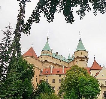 Slovakia, Bojnice Castle