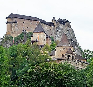 Slovakia, Orava Castle