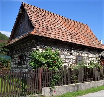 Slovakia, Čičmany Village