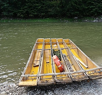 Slovakia, Dunajec River Gorge
