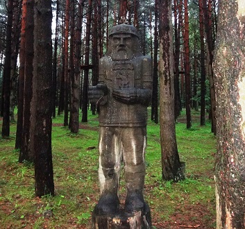 Lithuania, Curonian Spit, Raganų Kalnas