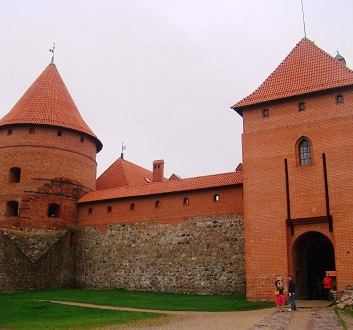 Lithuania, Trakai Island Castle