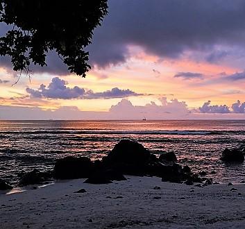 Africa, Mauritius, Sunset