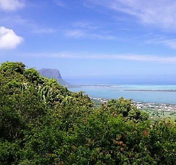 Africa, Mauritius, Indian Ocean Scenery