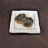 羊肚菌蘑菇 Tartine