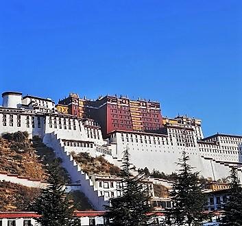 China, Tibet, Potala Palace
