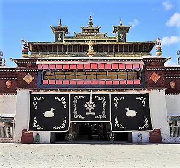 China, Tibet, Samye Monastery