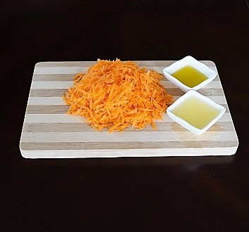 Carrots, Lemon Juice, Olive Oil