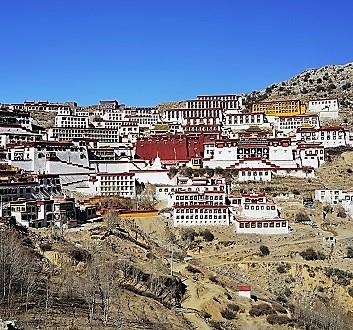 China, Tibet, Ganden Monastery