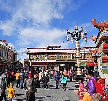 China, Tibet, Barkhor Circuit