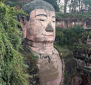 China, Chengdu, Leshan Giant Buddha