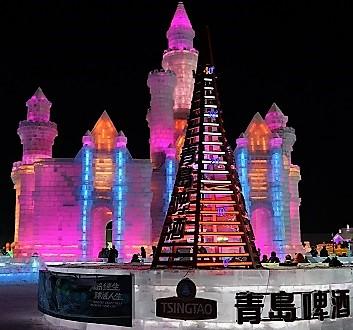 China, Harbin, Harbin International Ice and Snow Sculpture Festival