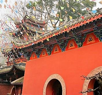China, Chengdu, Qingcheng Mountain, Tai'An